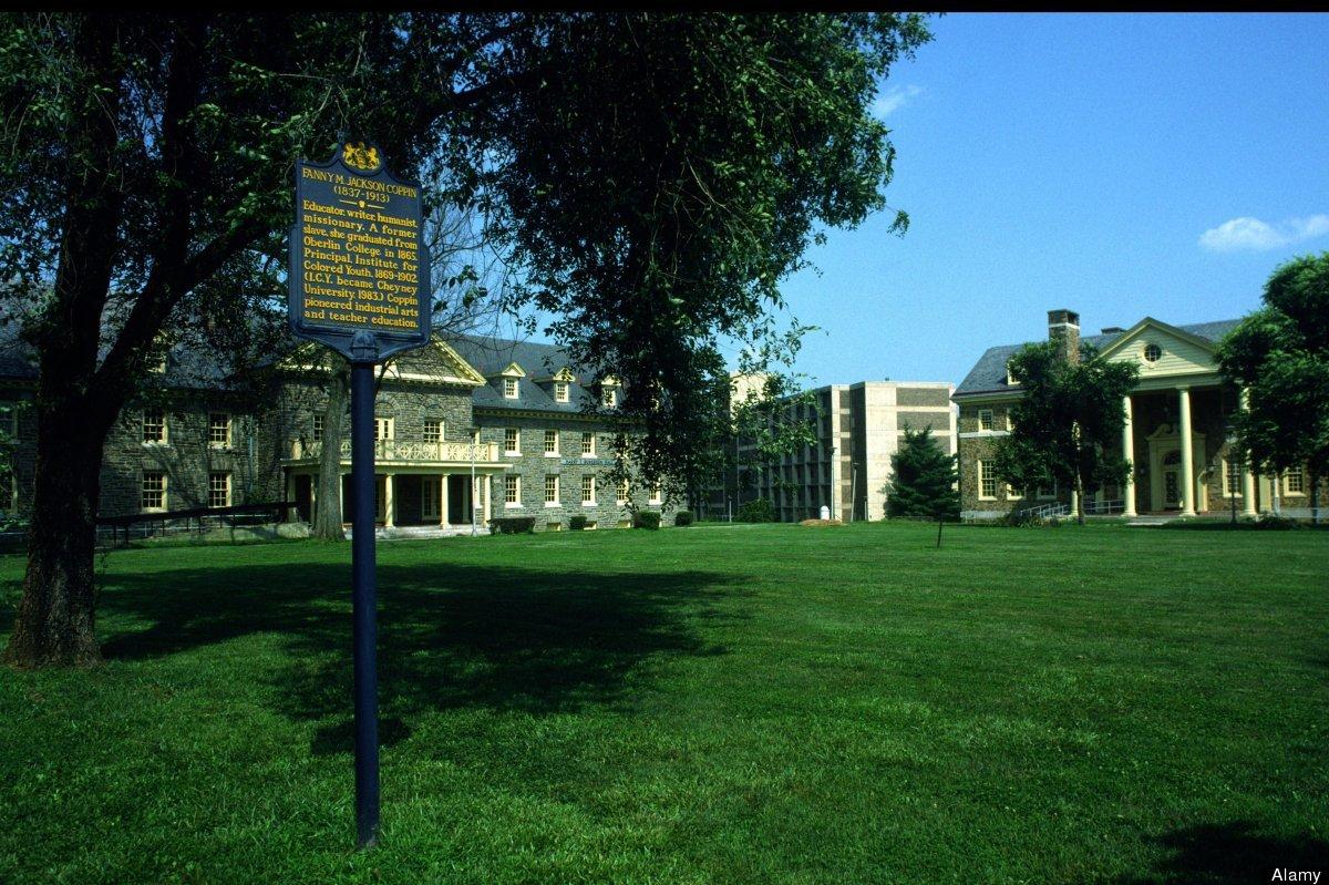 "<a href=""http://www.cheyney.edu/about-cheyney-university/"" target=""_hplink"">Cheyney University of Pennsylvania</a>, the natio"