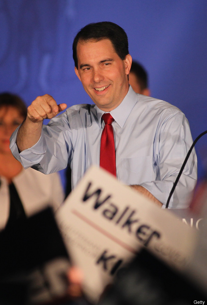 Sure, he survived the Wisconsin recall, but we're pretty confident he used every last one of his nine lives to do it.