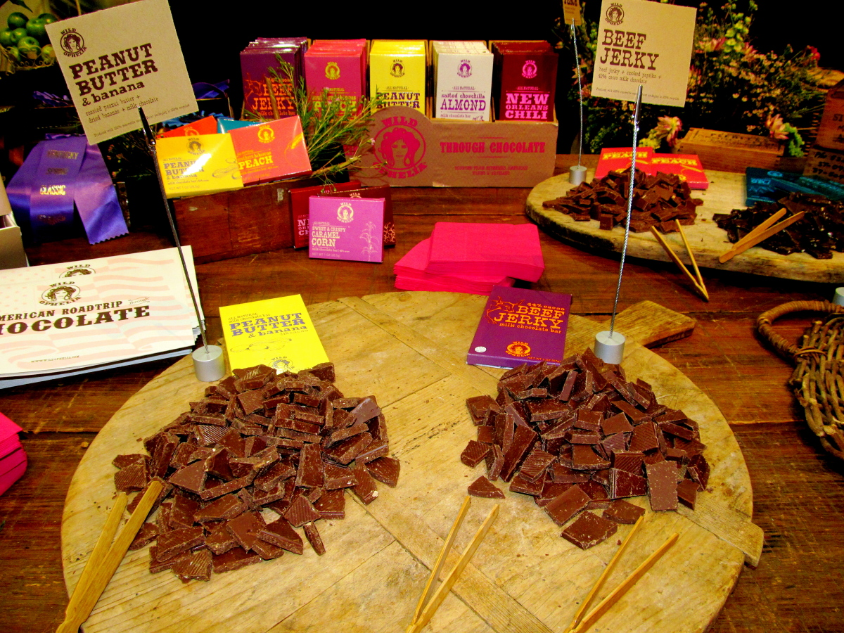 Beef Jerky chocolate may have been the last strange chocolate left to make. Vosges chocolate, the uber-delicious and uber-exp