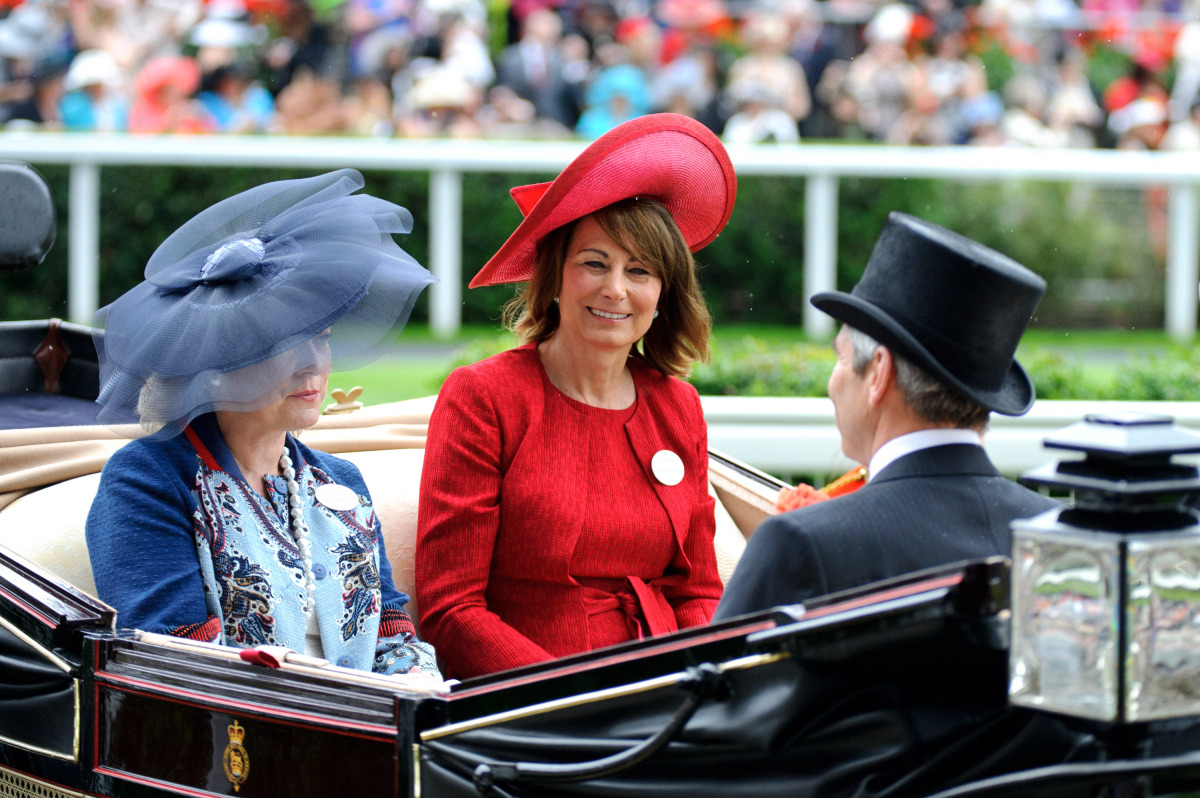 Carole Middleton.
