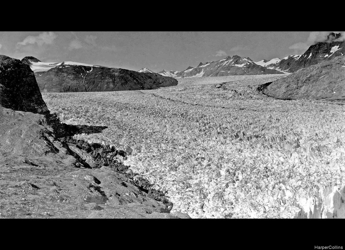 <strong>Muir Glacier Shrinkage, Alaska, USA</strong> August 1941