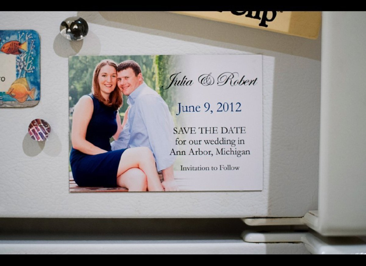 Your save-the-dates are the first piece of your wedding that guests will see, so they effectively set the tone. With that in