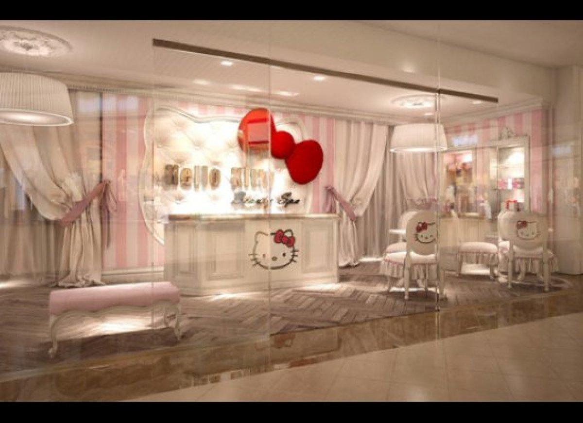 "The Hello Kitty Beauty Spa in Dubai. <em>To learn more visit <a href=""http://hellokittybeautyspa.com/"" target=""_hplink"">Hello"