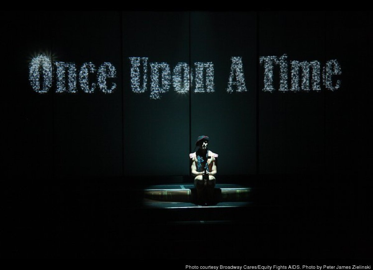 """Kyle Dean Massey, who appeared throughout the show, starts the evening, as every good fairytale should, with """"Once Upon a Tim"""