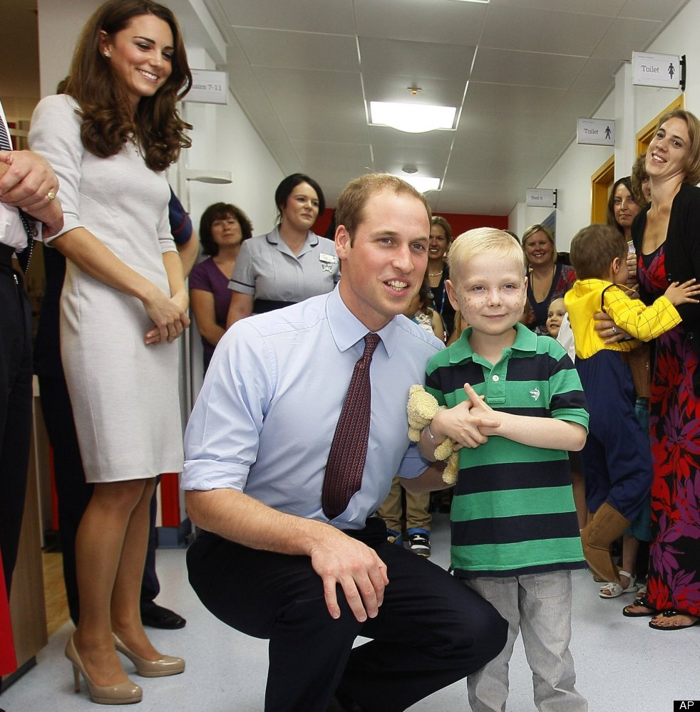Five years after taking on the role of president of the Royal Marsden Hospital -- a position once held by his late mother --