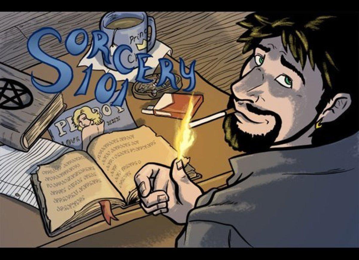 <em>Sorcery 101</em>, Art and Story by Kell McDonald.