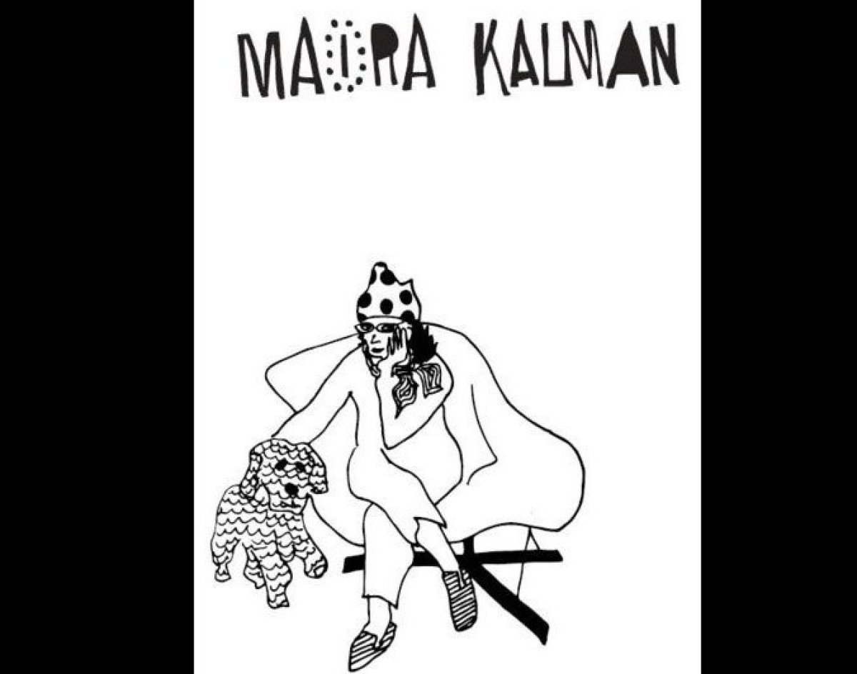"Kalman's seemingly <a href=""http://www.mairakalman.com/books/ "" target=""_hplink"">innocent illustrations</a> illuminate humani"
