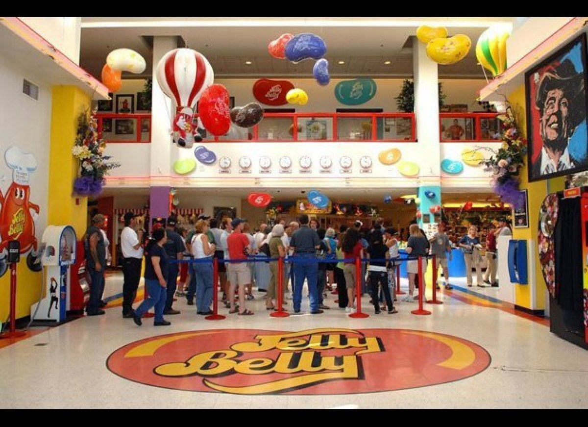 Addicted to jelly beans? Then the Jelly Belly Factory tour is a dream come true. Located about an hour north of San Francisco