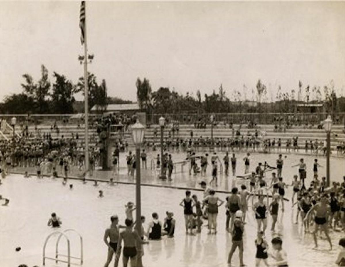 Cortona Park Swimming Pool, Bronx