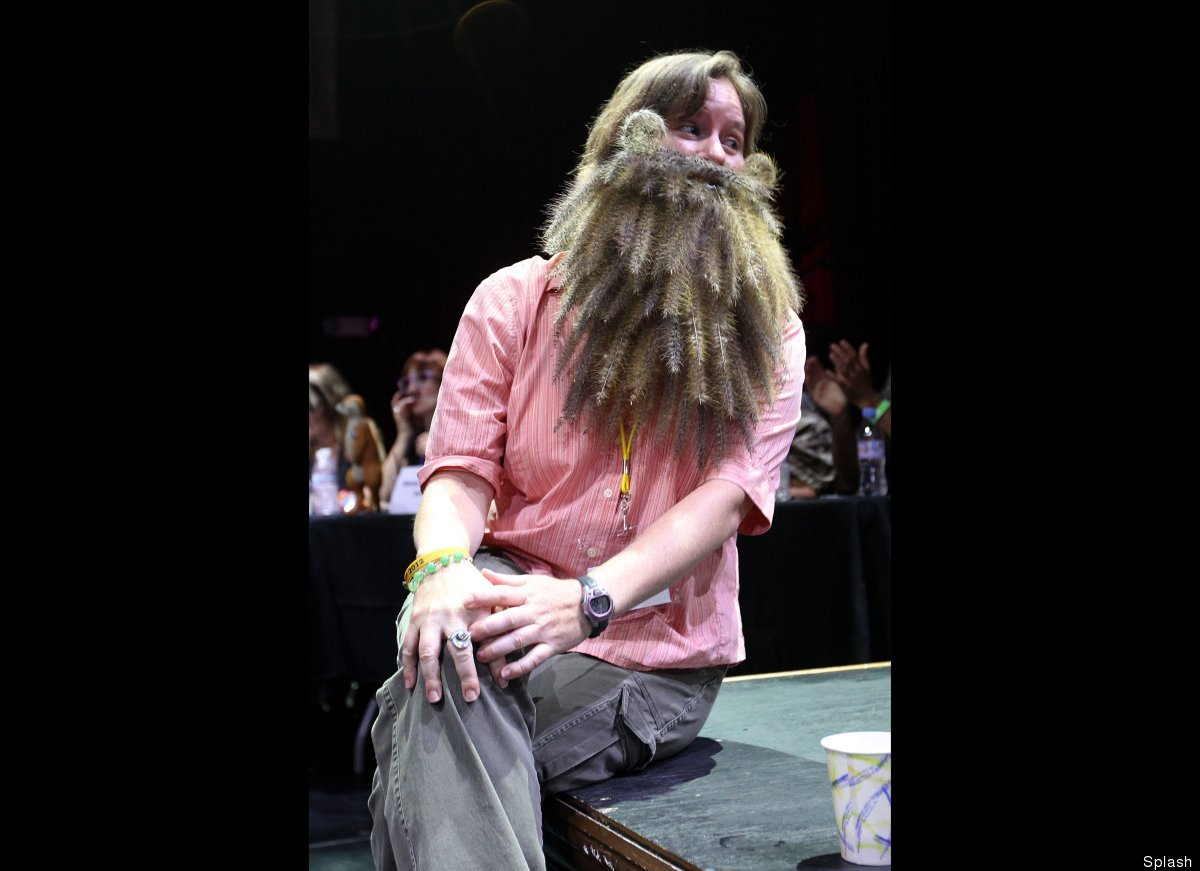 The second annual Los Angeles Beard and Mustache Competition held at the Belasco Theatre in Downtown Los Angeles, California.
