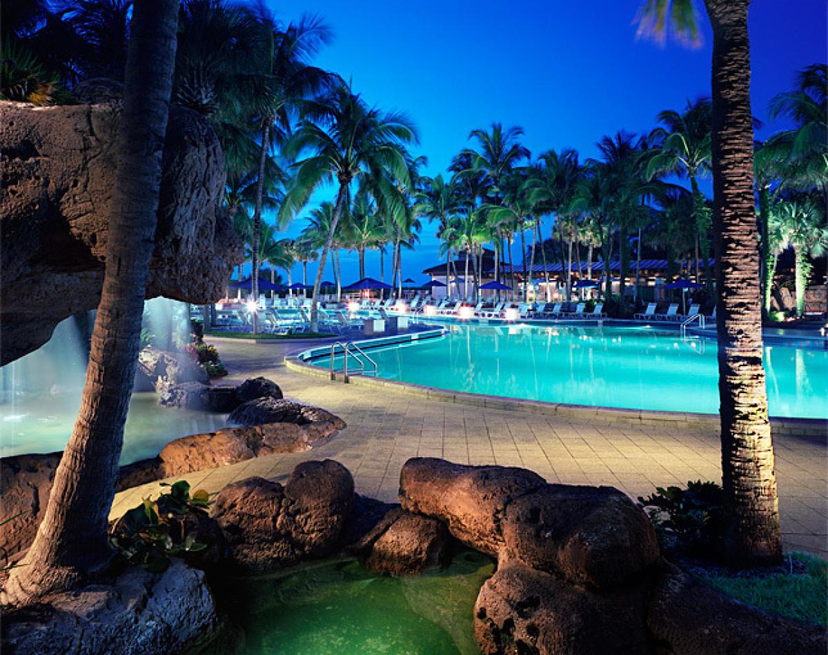 The Pool - courtesy Harbor Beach Marriott Resort