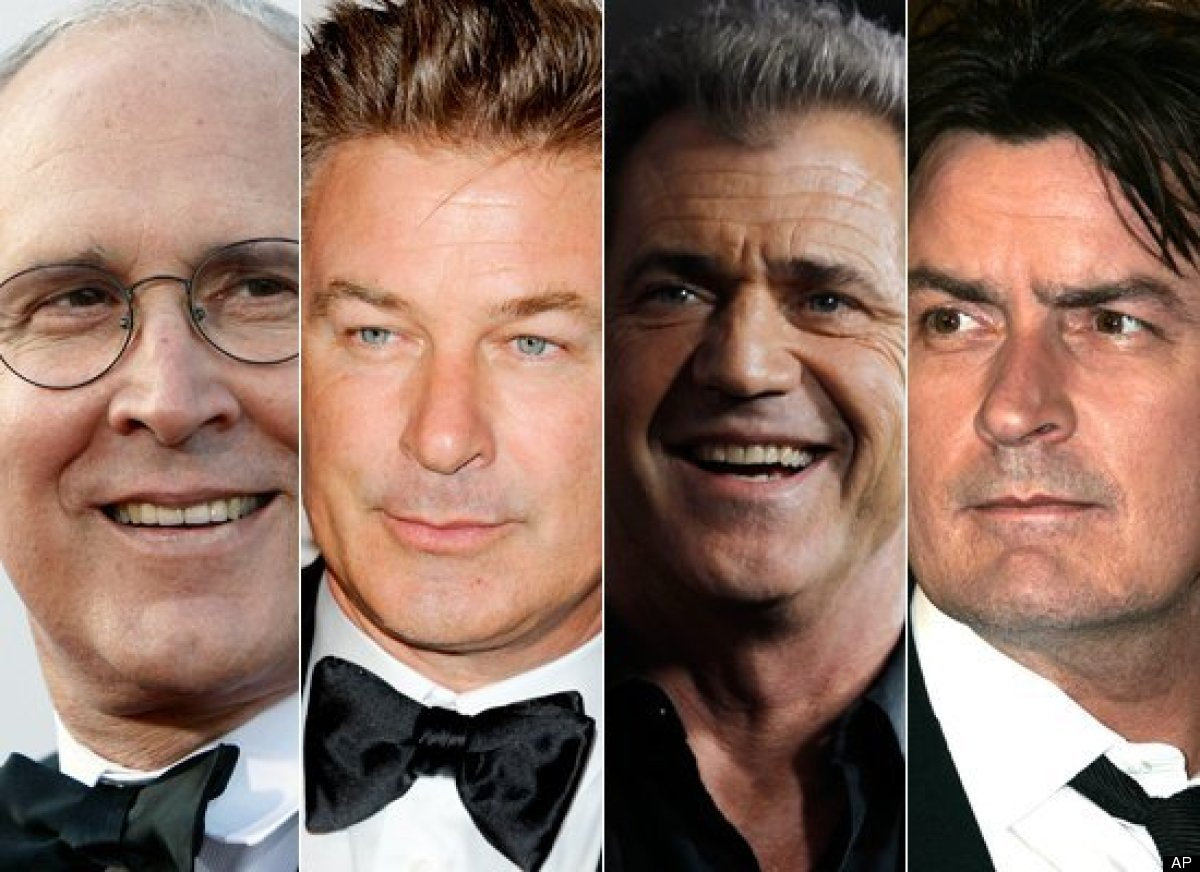 <strong>a) Chevy Chase  b) Alec Baldwin  c) Mel Gibson d) Charlie Sheen</strong>