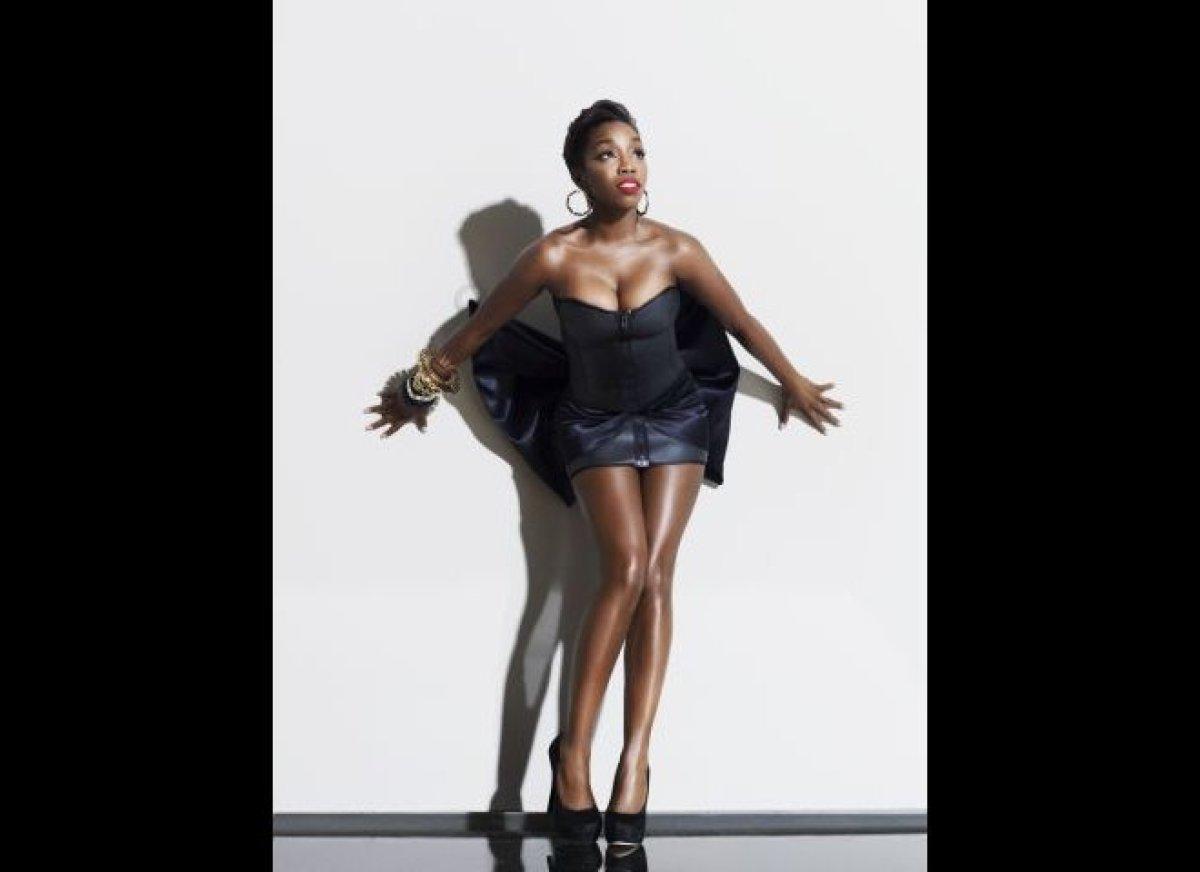 Estelle, singer/rapper, talks her new album and her own Black girl crushes.