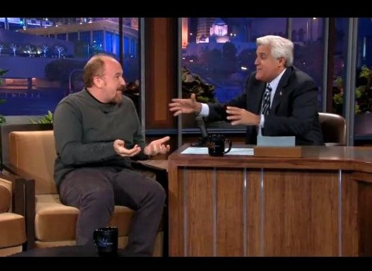 """Louis CK followed up his <a href=""""http://gtcha.me/LLCoFX"""">Monday morning on the <em>Today Show</em></a> with a night of teari"""