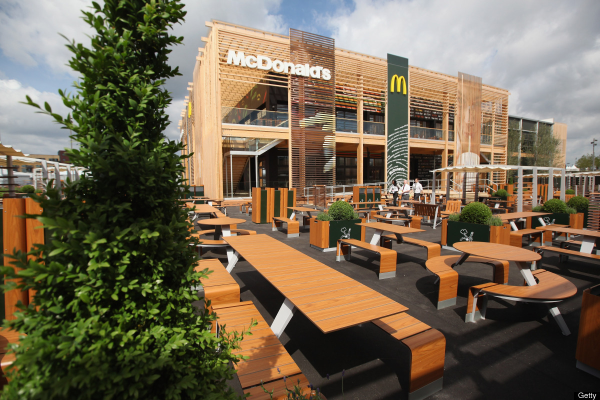 worlds largest mcdonalds at london summer olympics readies for july 28 opening photos