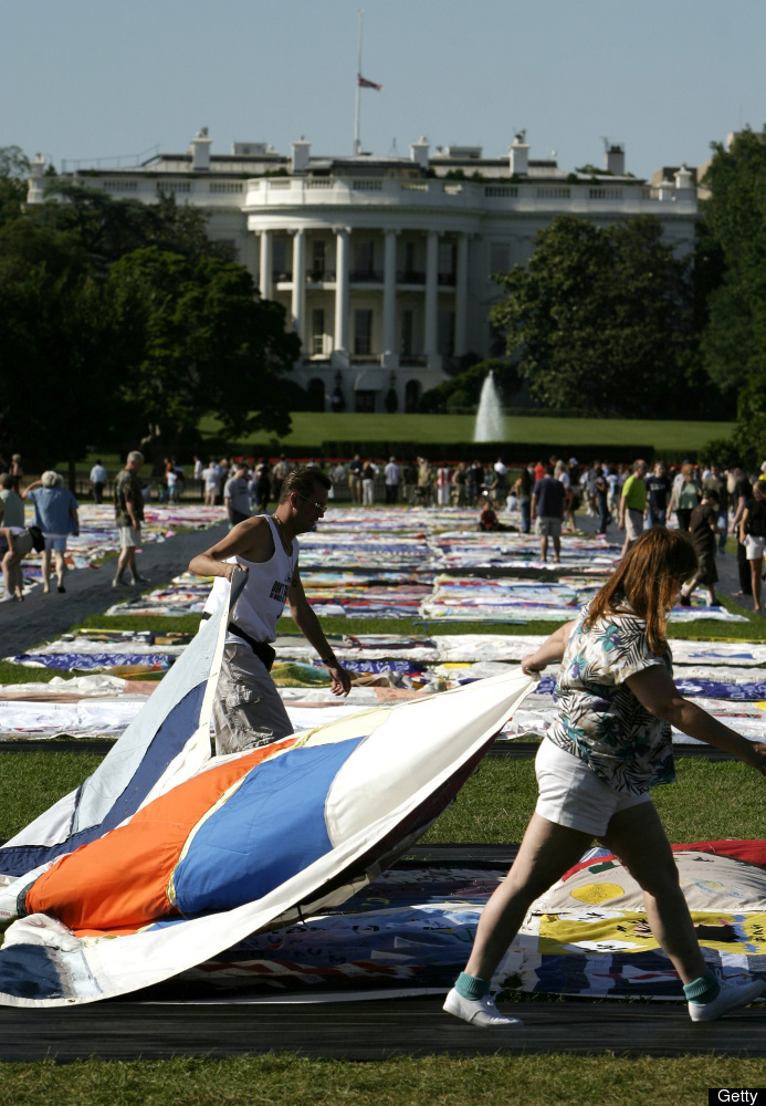 Part of the AIDS Quilt will be showcased for the duration of the Festival.