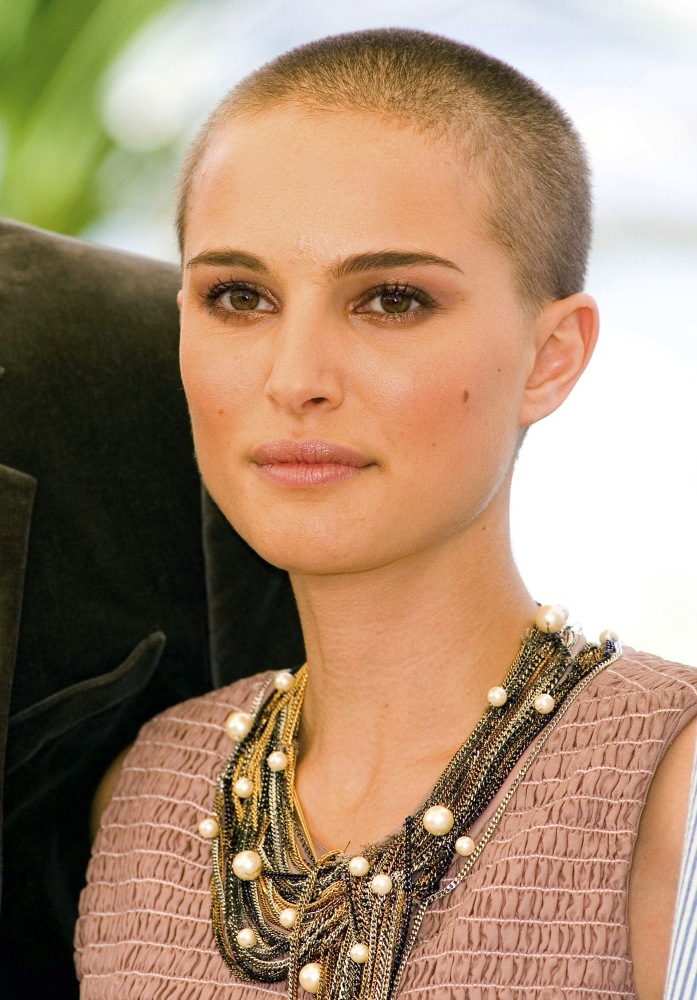 Like This female short hair shaved head North