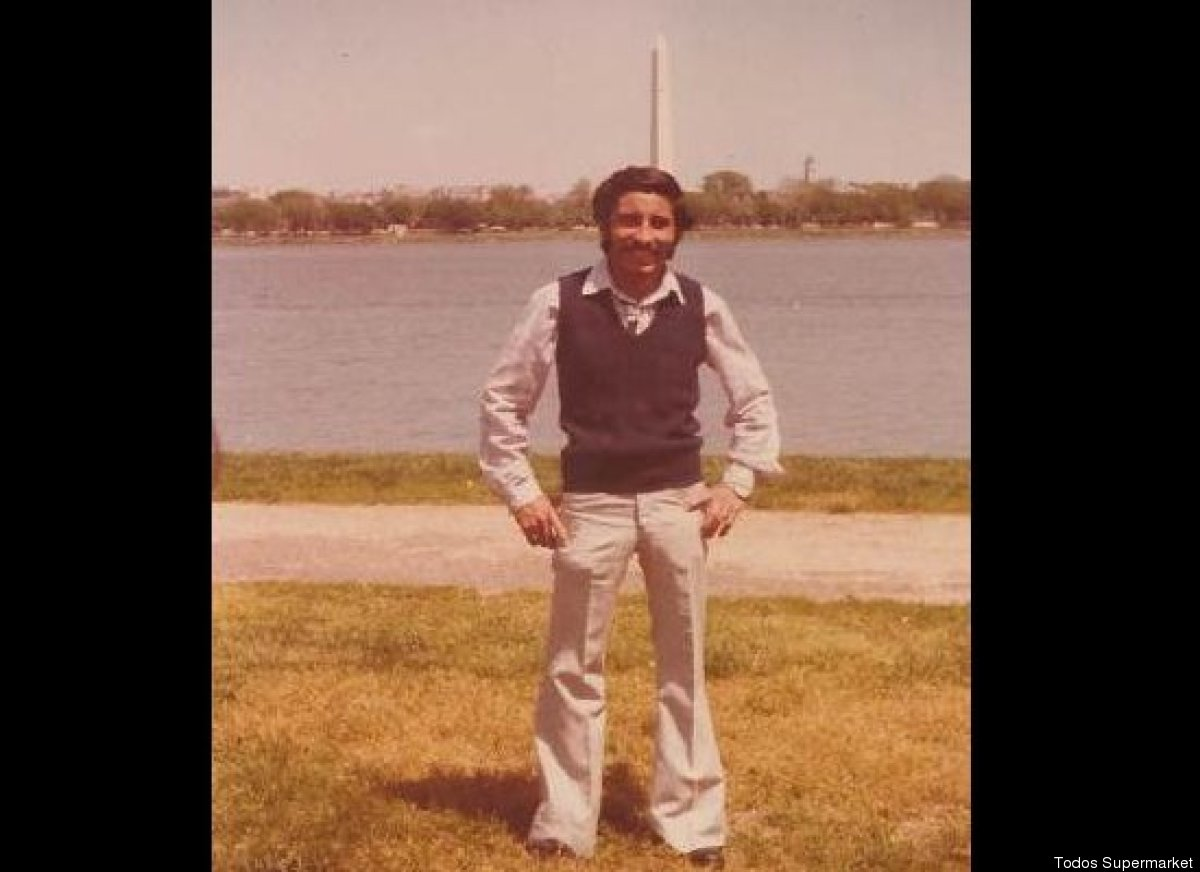 Carlos Castro just arriving in Washington, DC, in 1980 as an undocumented worker. After being caught and deported the first t
