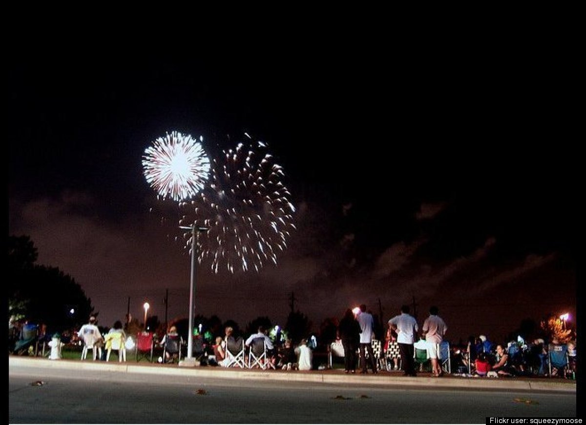 Every year this suburb of Dallas boasts one of the nation's biggest and best fireworks shows in the country. Rated one of the