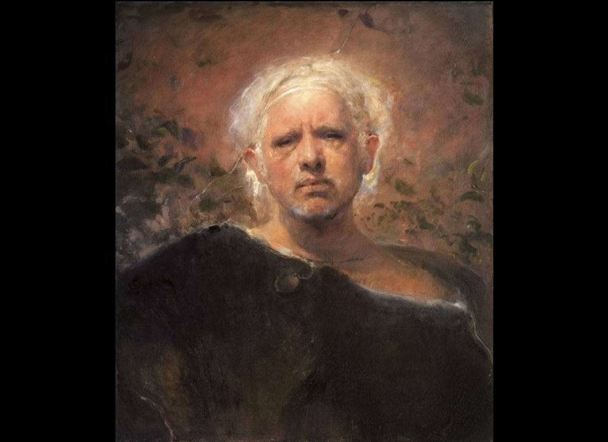 """29.5 x 25.5 inches, oil on canvas Paintings by Odd Nerdrum presented with the permission of <a href=""""http://www.nerdrummuseu"""