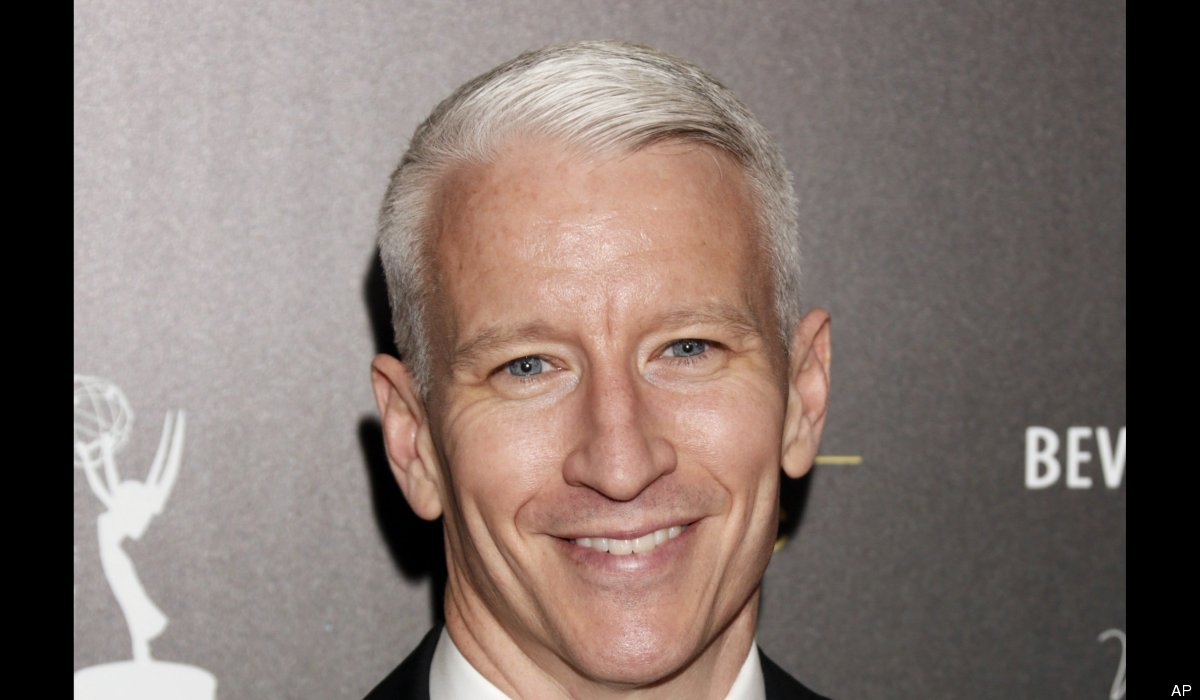 """Long rumored to be gay, CNN news anchor and talk show host Anderson Cooper came out in July of 2012 via an email <a href=""""htt"""