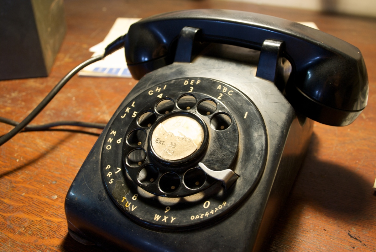 """""""I remember when I was very young, my family calling me to the phone, excited that we were making a 'long distance' call from"""