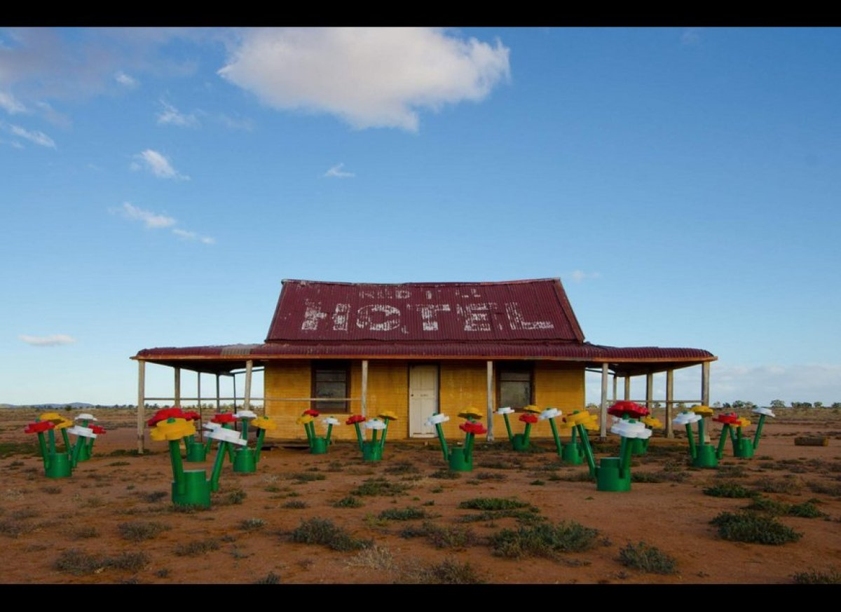 Broken Hill is currently enjoying a magical surprise, with a life-sized LEGO® Forest rising from the red soil to create a col