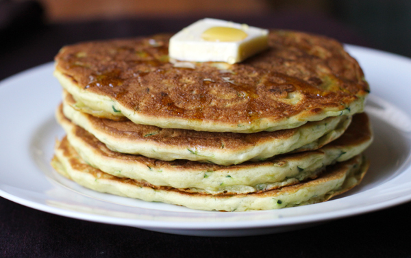 """<strong>Get the <a href=""""http://food52.com/recipes/17054-lemon-zucchini-pancakes-with-a-heart-of-brie"""" target=""""_blank"""">Lemon"""