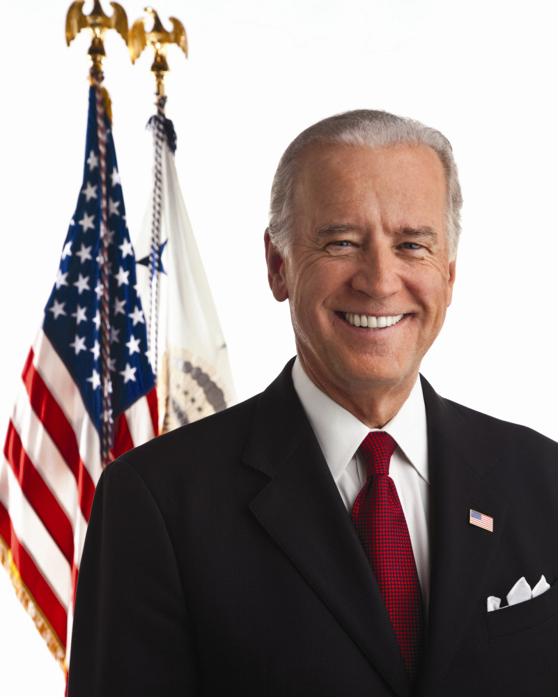 """Joseph Robinette """"Joe"""" Biden, Jr. is the 47th and current Vice President of the United States, serving under President Barack"""