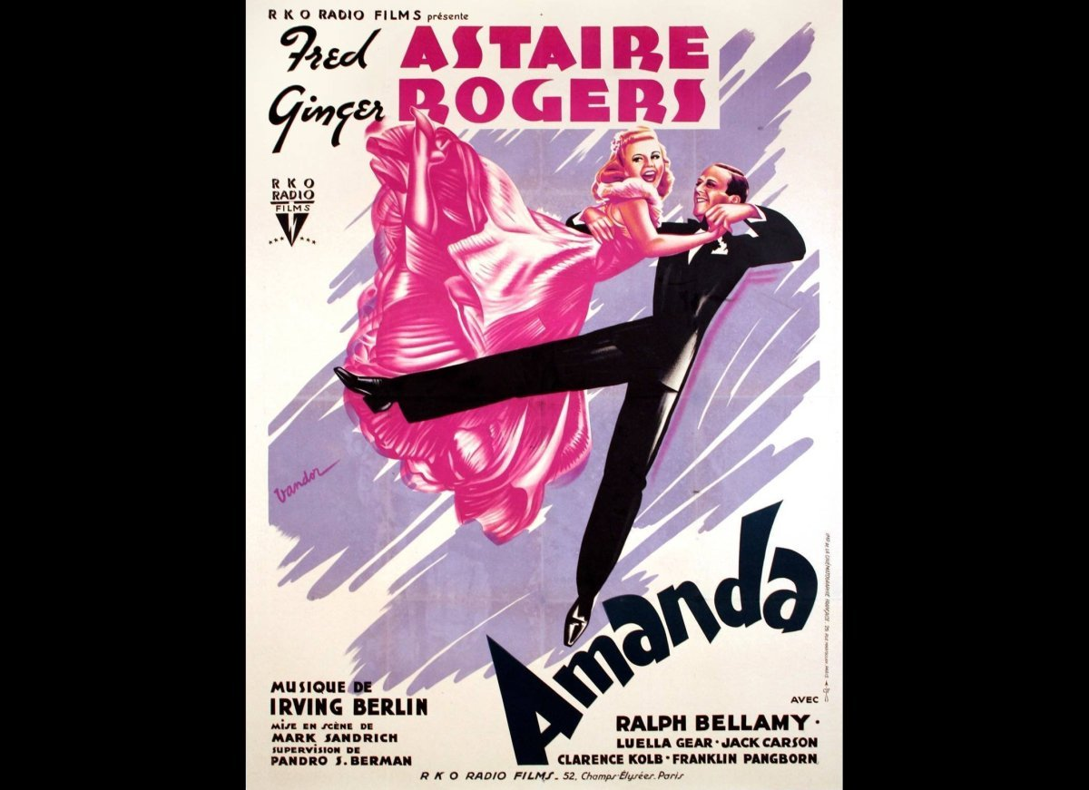 Dancing With The Movie Stars Art Of Poster Huffpost Short Circuit Posters From Shop Although There Are Great American For Ten Fred Astaire Ginger Rogers Movies