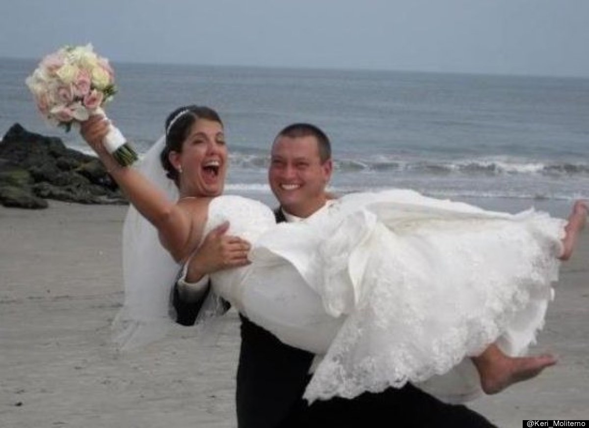 @Keri_Moliterno: @HuffPostWedding My sister-in-law got married Saturday in record high temps at the jersey shore pic.twitter.