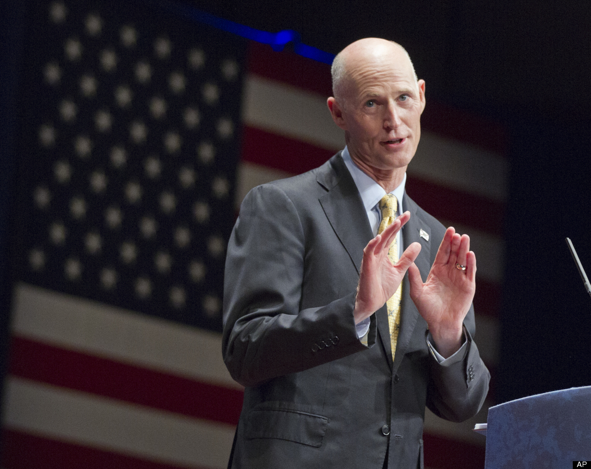 "Florida Governor Rick Scott's Facebook managers <a href=""http://www.huffingtonpost.com/2012/04/11/rick-scott-facebook_n_14174"