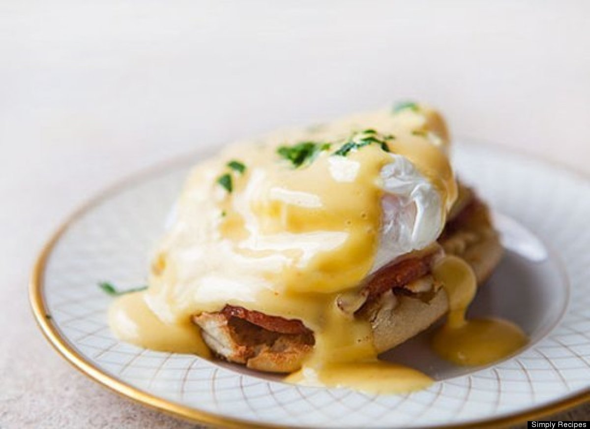 "<strong>Get the <a href=""http://www.simplyrecipes.com/recipes/eggs_benedict/"" target=""_hplink"">Eggs Benedict recipe</a> by Si"