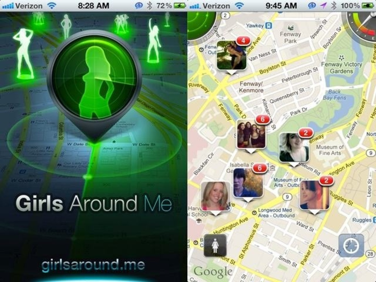 "Despite its name, the controversial <a href=""http://girlsaround.me/"" target=""_hplink"">Girls Around Me iPhone app</a> let the"