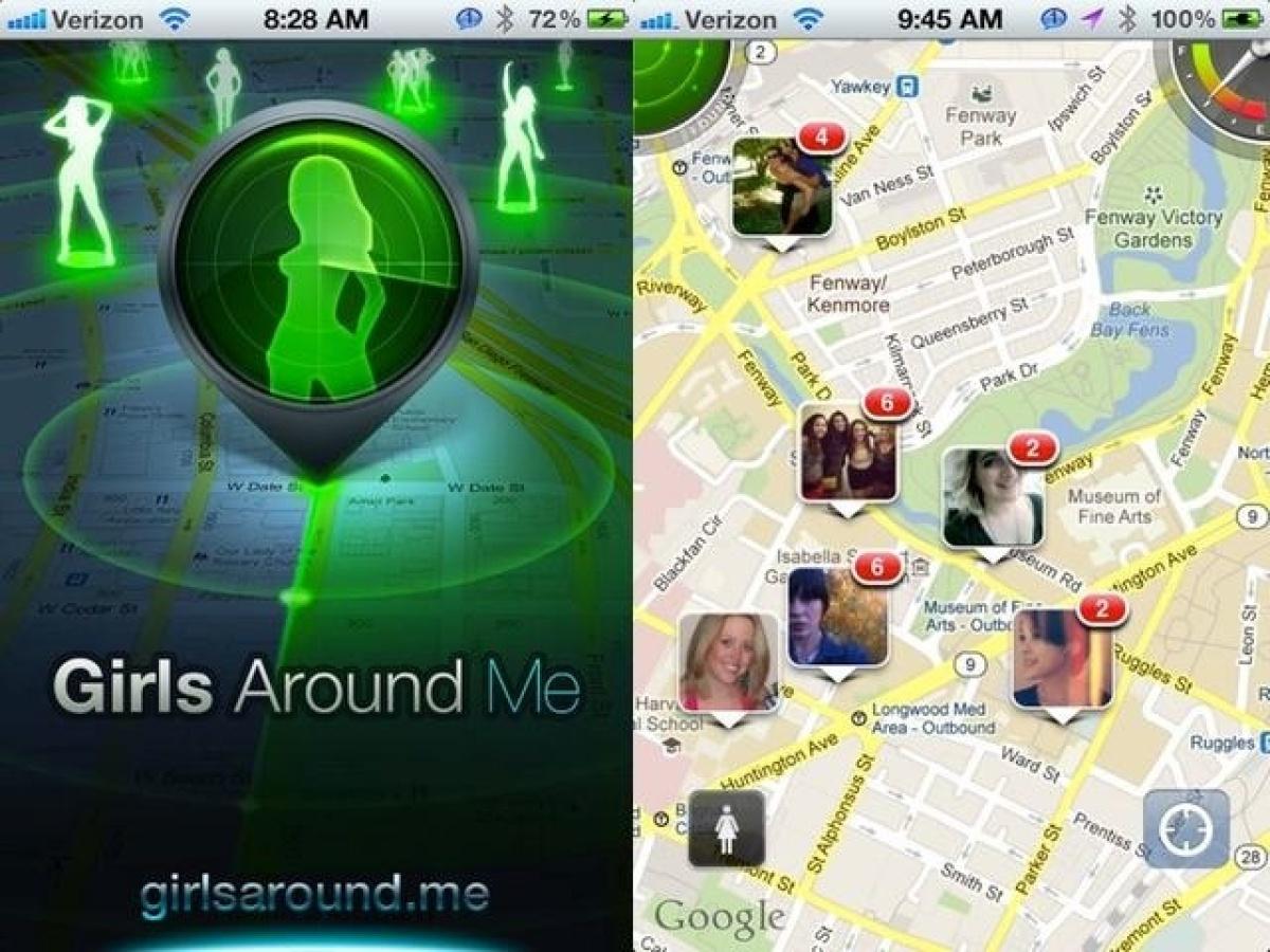 Nackt-Snapchat-App