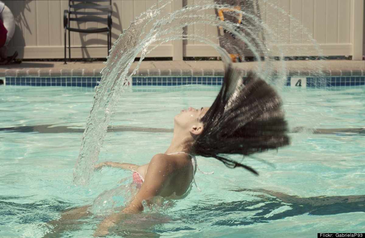 It's not just an old wives' tale -- too much time in the pool really <em>can</em> change the color of your locks, especially