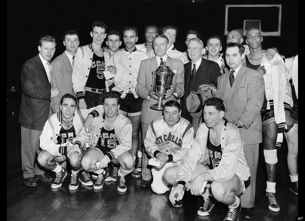 The City College of New York men's basketball team won both the National Invitation Tournament and the national championship