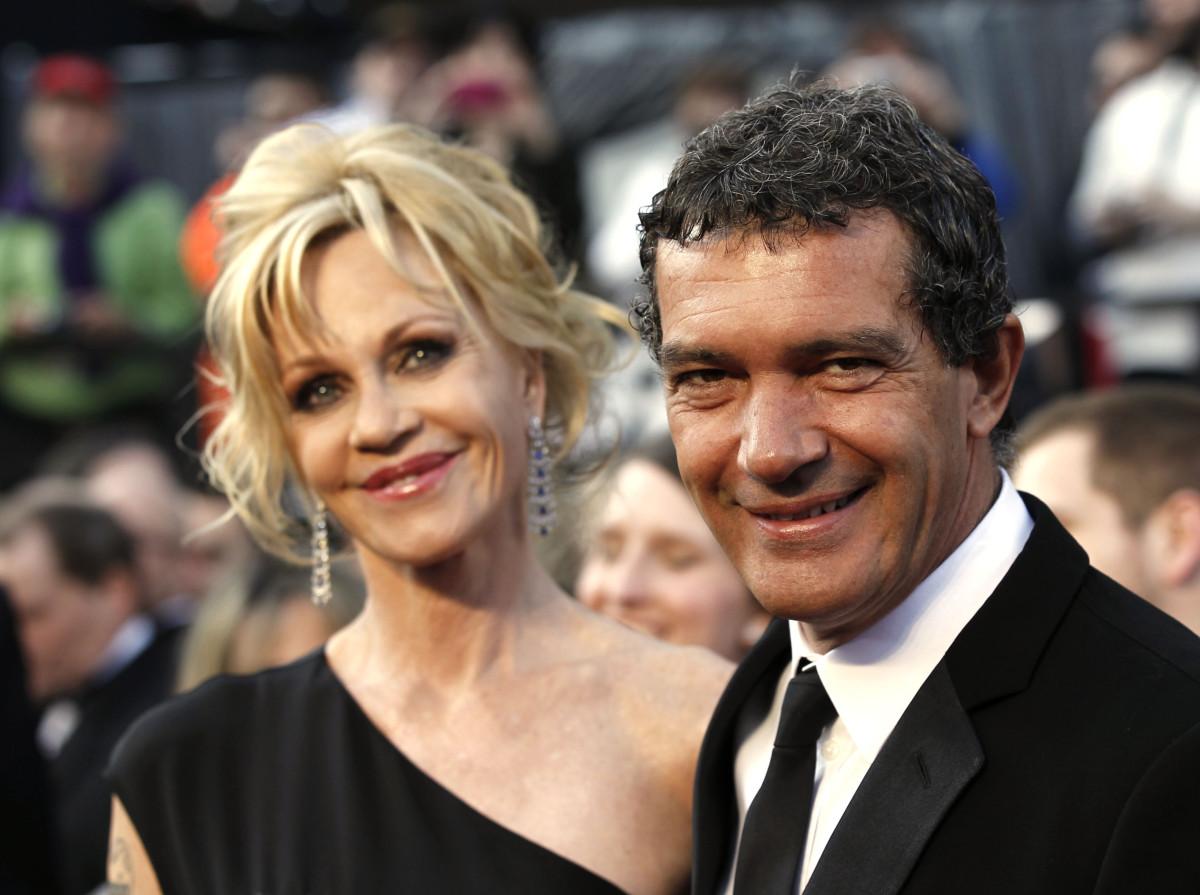 антонио бандерас с женой фото