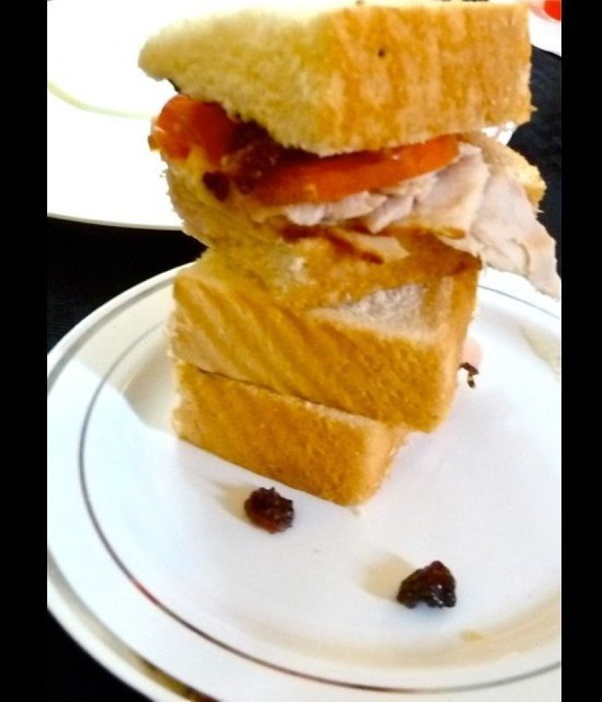 "<a href=""https://apps.facebook.com/red-stag/?tab=2"" target=""_hplink"">BLUEGRASS HONEY TEA SLIDERS</a>. ""This is my homage to t"