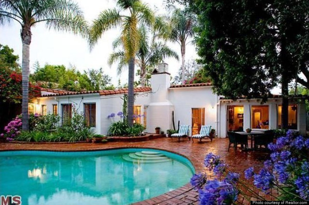 Marilyn Monroe Mansion A Peek At Marilyn Monroe's Last Home A Spanishstyle House In