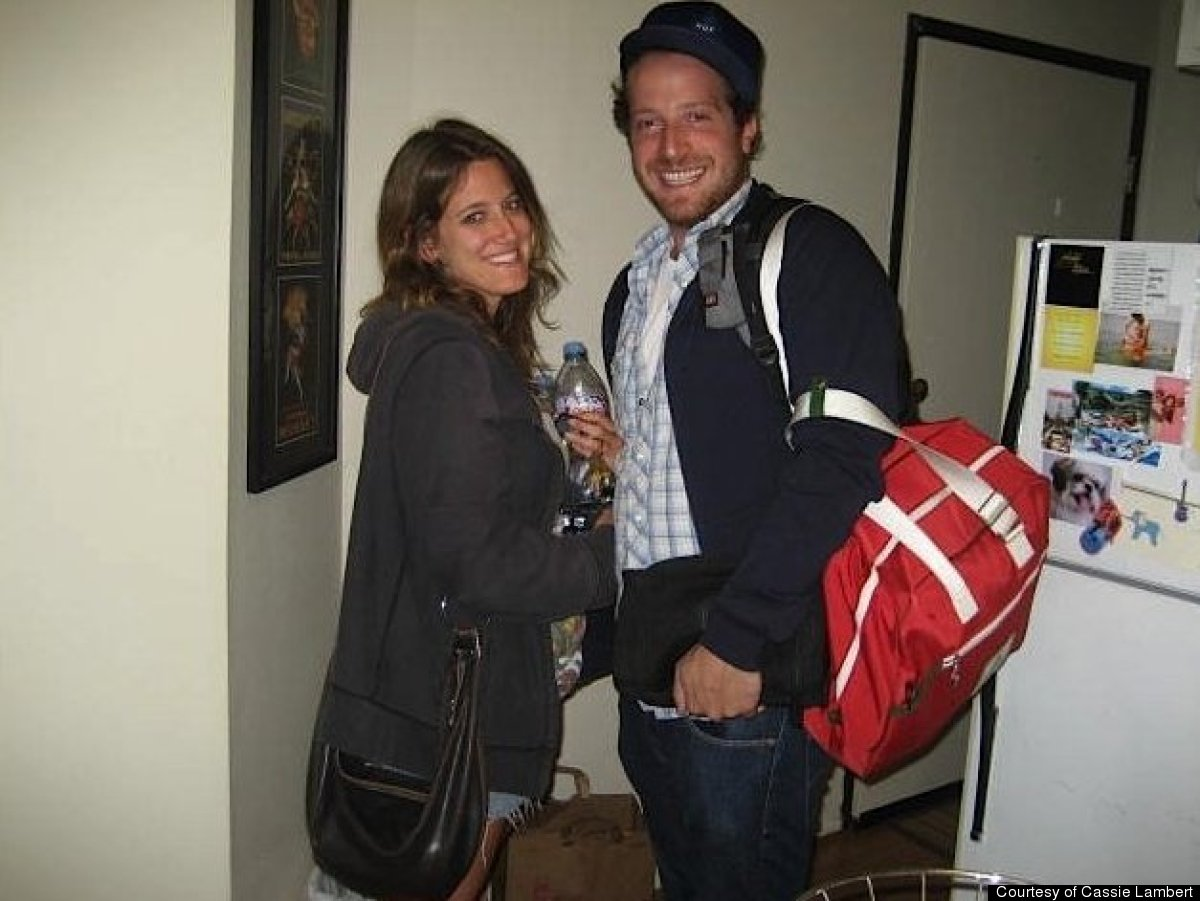 Lambert and Scalettar when they first started dating in 2008