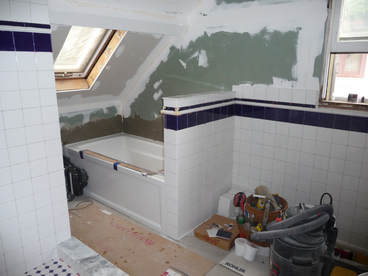 According to the survey, bathroom remodeling is the most requested job in the United States, accounting for 78 percent of ren