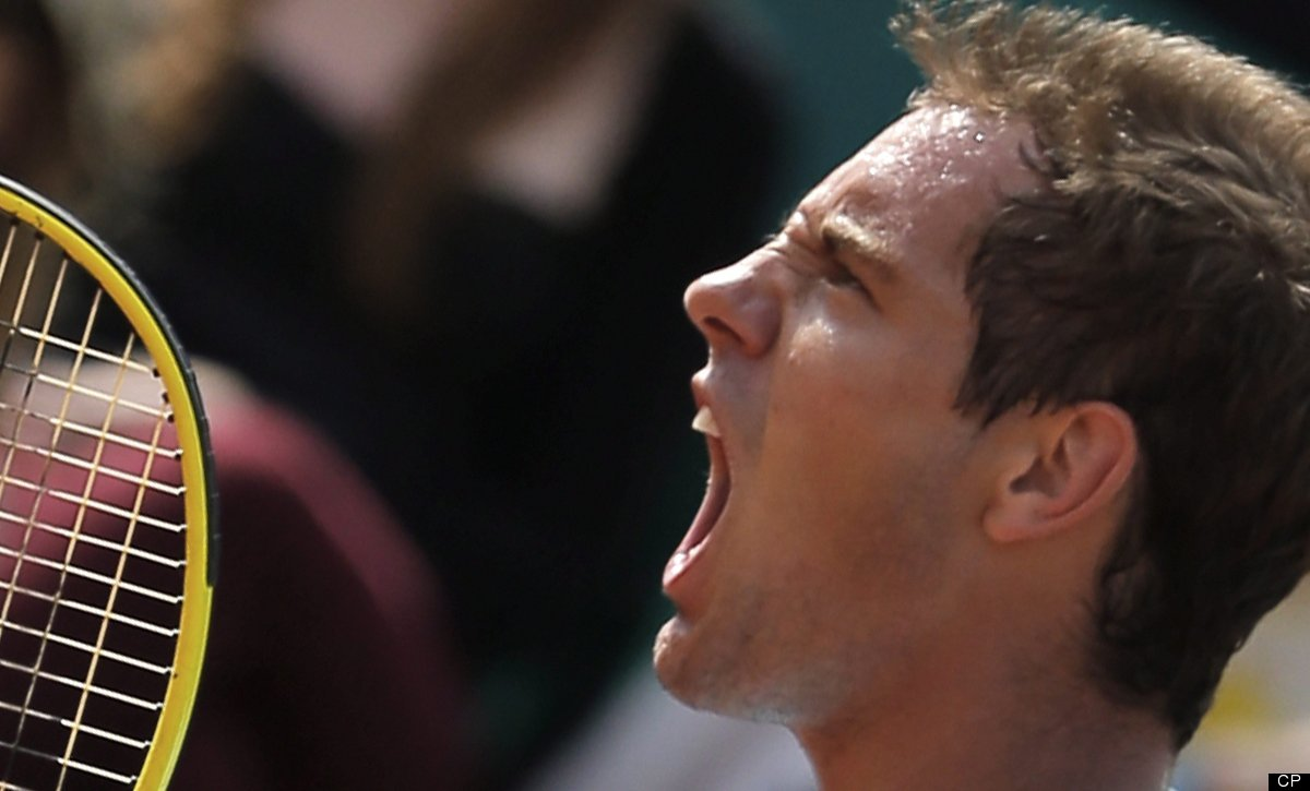 Richard Gasquet kissed a girl (and the ATP didn't like it). The French tennis player tested positive for cocaine in 1999, but