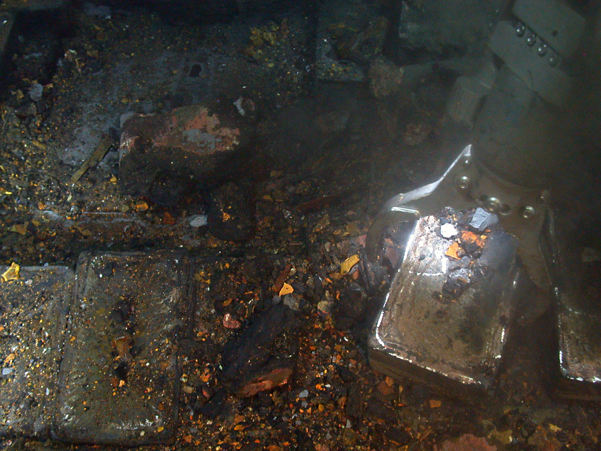Using advanced robotics, Odyssey recovers silver from the SS Gairsoppa shipwreck, which lies approximately 4700 meters deep i