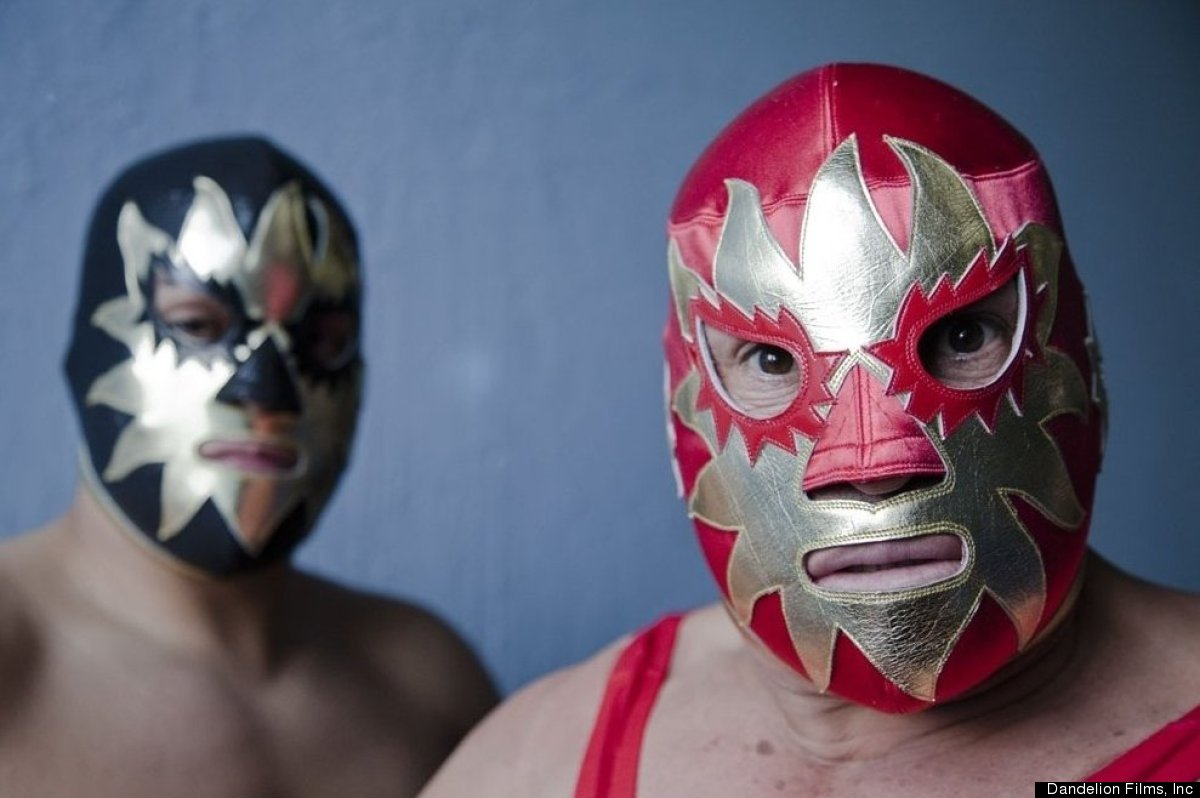 """From the director of the acclaimed """"Foto-Novelas"""", """"Tales of Masked Men"""" explores the fascinating, mysterious world of lucha"""