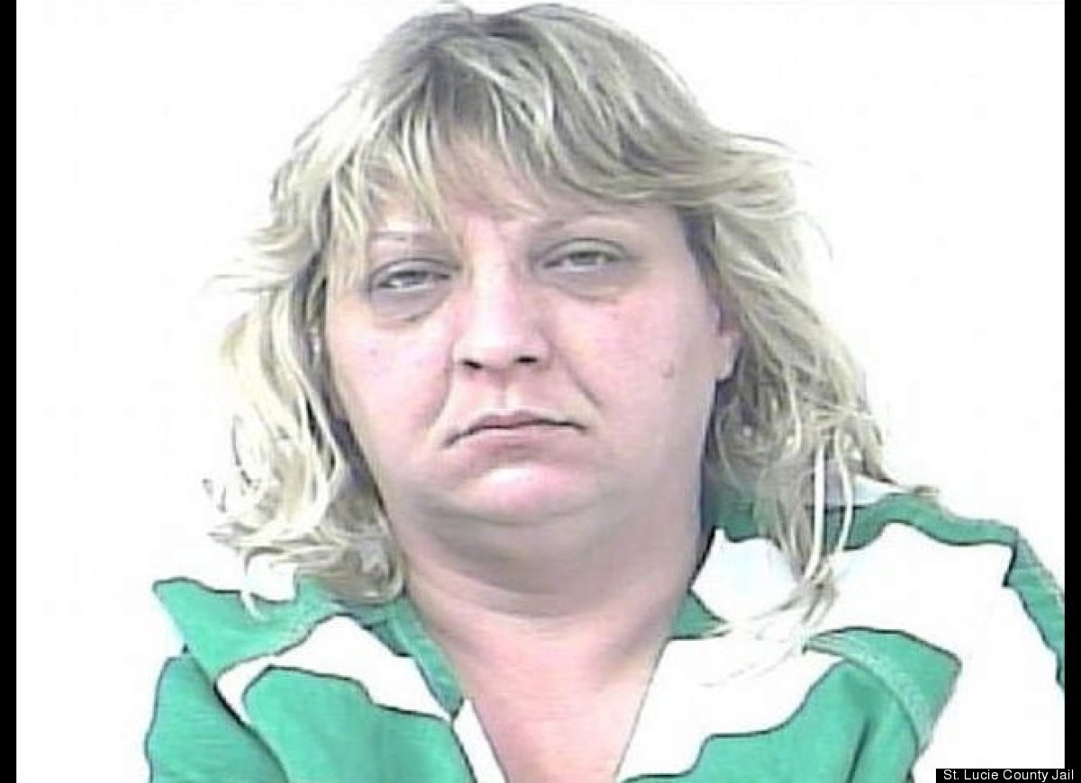 Melissa Miller, 41, was arrested for reckless driving after officials in Fort Pierce, Fla., clocked her doing 100 mph in a 30