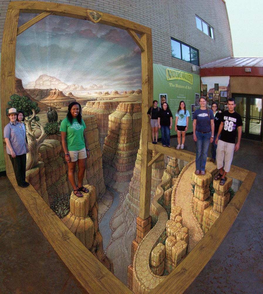 Grand Canyon Experience, National Geographic Visitors' Center, Grand Canyon, Arizona 2012