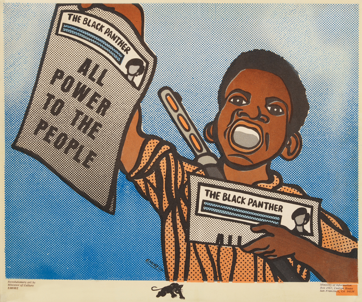 "Emory Douglas ""All Power to the People,"" 1969"