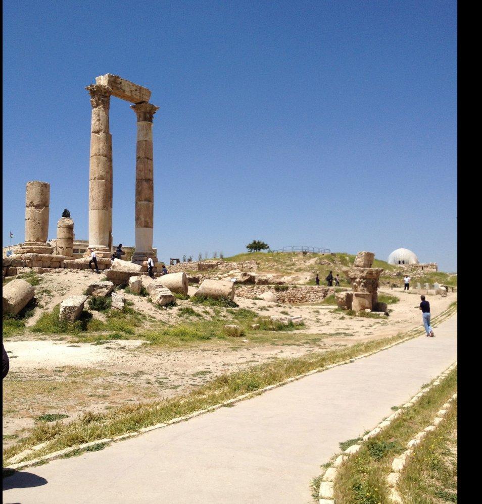 The CItadel, Amman, Jordan. Empty but majestic.