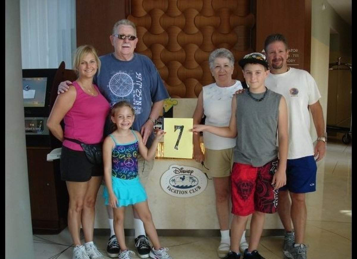 """The 7th annual Bunchuk Family Disney vacation at the Bay Lake Towers."""